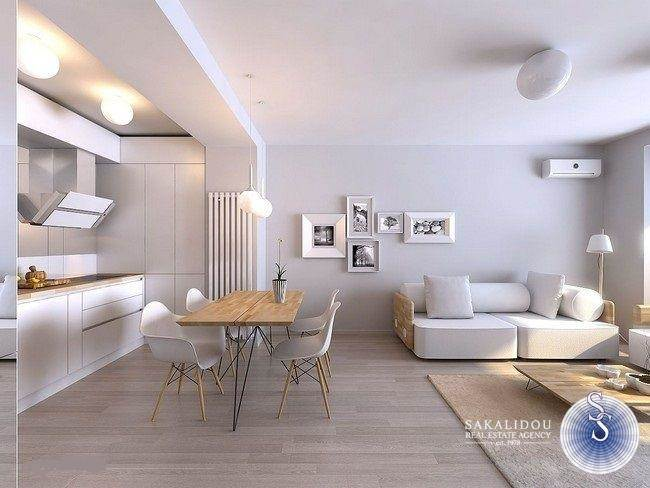 MINIMAL 1ST FLOOR APARTMENT UNDER CONSTRUCTION IN GLYFADA